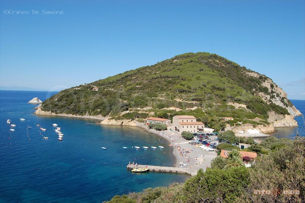 Spiaggia Dell Enfola All Isola D Elba A Portoferraio