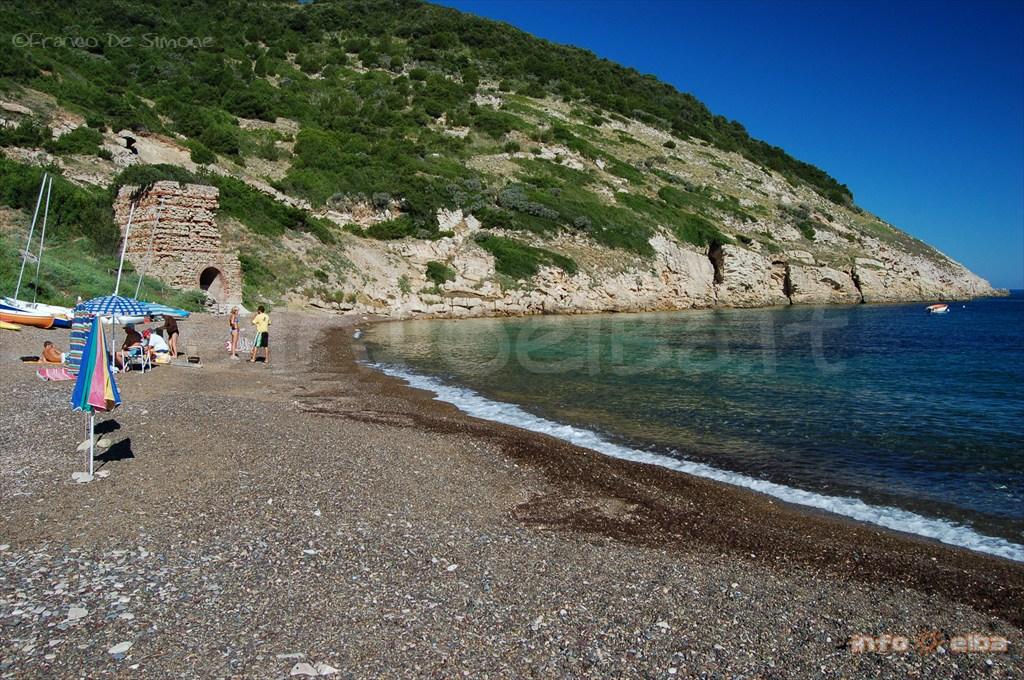 Spiaggia Di Nisporto All Isola D Elba A Rio