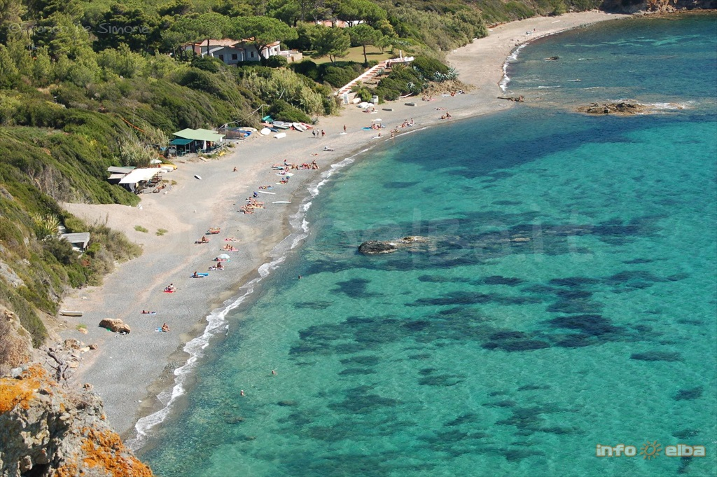 Spiaggia Di Norsi All Isola D Elba A Capoliveri