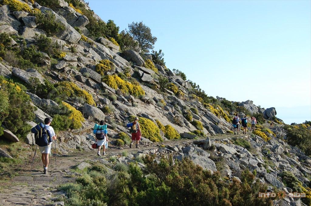 Praticare Trekking All Isola D Elba