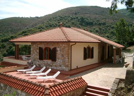 Appartamenti casa rosa capoliveri all 39 isola d 39 elba a - Colore esterno casa rosa antico ...